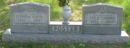 FOSTER, CLIFTON DAVID - Boone County, Arkansas | CLIFTON DAVID FOSTER - Arkansas Gravestone Photos