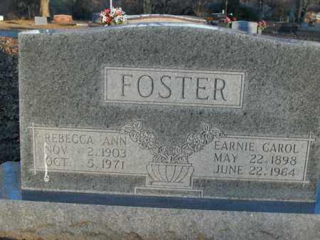FOSTER, EARNIE CAROL - Boone County, Arkansas   EARNIE CAROL FOSTER - Arkansas Gravestone Photos