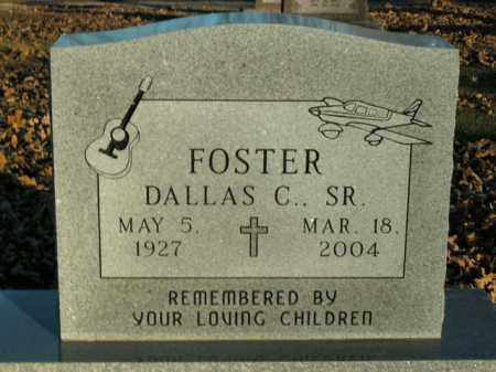 FOSTER, SR, DALLAS C. - Boone County, Arkansas   DALLAS C. FOSTER, SR - Arkansas Gravestone Photos
