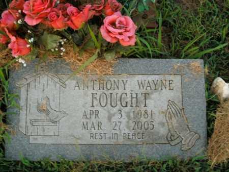 FOUGHT, ANTHONY WAYNE - Boone County, Arkansas | ANTHONY WAYNE FOUGHT - Arkansas Gravestone Photos