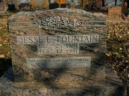 FOUNTAIN, JESSE E. - Boone County, Arkansas | JESSE E. FOUNTAIN - Arkansas Gravestone Photos