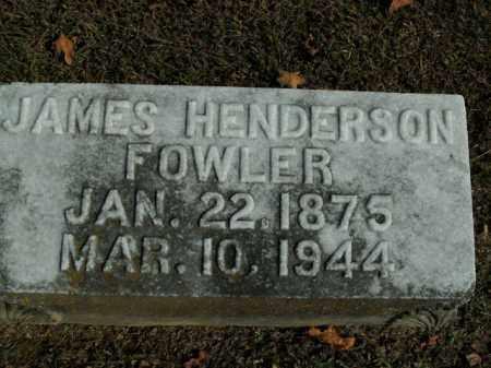 FOWLER, JAMES HENDERSON - Boone County, Arkansas   JAMES HENDERSON FOWLER - Arkansas Gravestone Photos