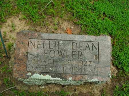 FOWLER, NELLIE DEAN - Boone County, Arkansas   NELLIE DEAN FOWLER - Arkansas Gravestone Photos