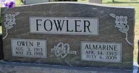 FOWLER, OWEN PLEASANT - Boone County, Arkansas | OWEN PLEASANT FOWLER - Arkansas Gravestone Photos