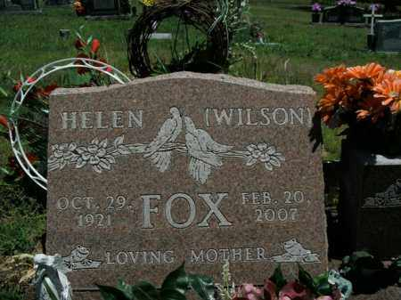 FOX, HELEN BERTHA - Boone County, Arkansas | HELEN BERTHA FOX - Arkansas Gravestone Photos