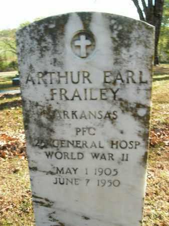 FRAILEY  (VETERAN WWII), ARTHUR EARL - Boone County, Arkansas | ARTHUR EARL FRAILEY  (VETERAN WWII) - Arkansas Gravestone Photos