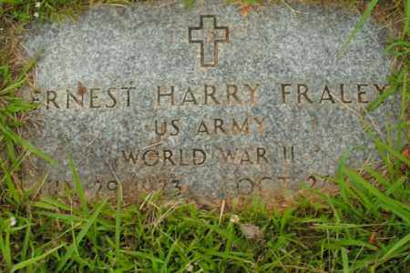 FRALEY  (VETERAN WWII), ERNEST HARRY - Boone County, Arkansas   ERNEST HARRY FRALEY  (VETERAN WWII) - Arkansas Gravestone Photos