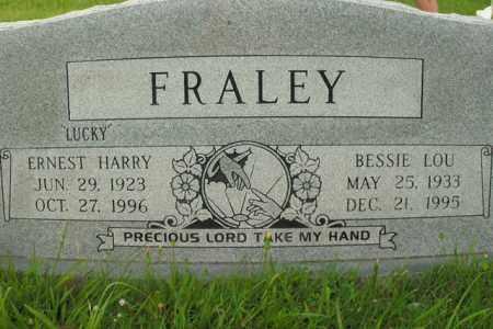 FRALEY, ERNEST HARRY - Boone County, Arkansas | ERNEST HARRY FRALEY - Arkansas Gravestone Photos