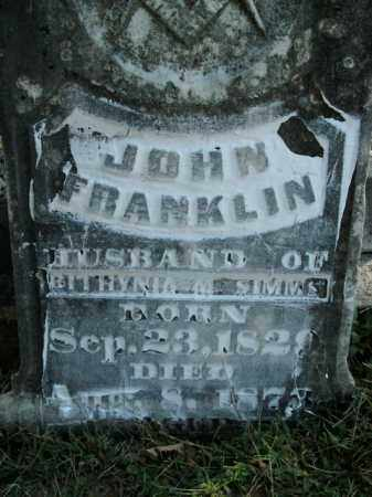 SIMMS, JOHN FRANKLIN - Boone County, Arkansas | JOHN FRANKLIN SIMMS - Arkansas Gravestone Photos