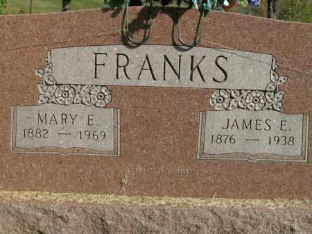 FRANKS, MARY E. - Boone County, Arkansas | MARY E. FRANKS - Arkansas Gravestone Photos