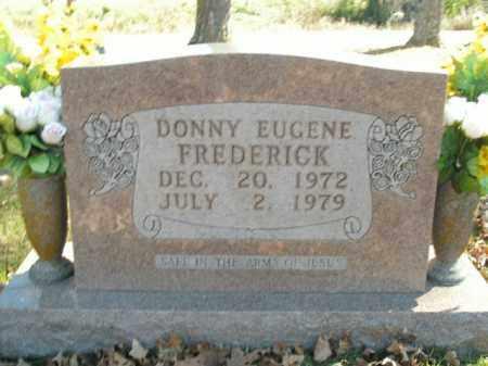 FREDERICK, DONNY EUGENE - Boone County, Arkansas | DONNY EUGENE FREDERICK - Arkansas Gravestone Photos