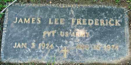 FREDERICK (VETERAN), JAMES LEE - Boone County, Arkansas | JAMES LEE FREDERICK (VETERAN) - Arkansas Gravestone Photos