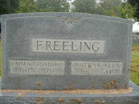 FREELING, NATHAN ALEX - Boone County, Arkansas | NATHAN ALEX FREELING - Arkansas Gravestone Photos