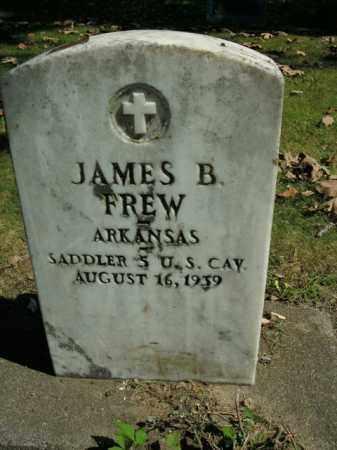 FREW  (VETERAN), JAMES BARCUS - Boone County, Arkansas | JAMES BARCUS FREW  (VETERAN) - Arkansas Gravestone Photos