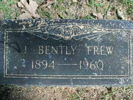 FREW, J. BENTLY - Boone County, Arkansas   J. BENTLY FREW - Arkansas Gravestone Photos