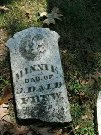 FREW, MINNIE - Boone County, Arkansas | MINNIE FREW - Arkansas Gravestone Photos