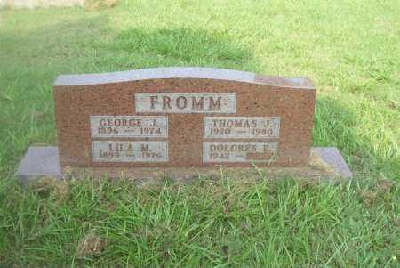 FROMM, GEORGE J - Boone County, Arkansas | GEORGE J FROMM - Arkansas Gravestone Photos