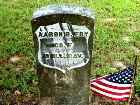 FRY  (VETERAN UNION), AARON B - Boone County, Arkansas   AARON B FRY  (VETERAN UNION) - Arkansas Gravestone Photos