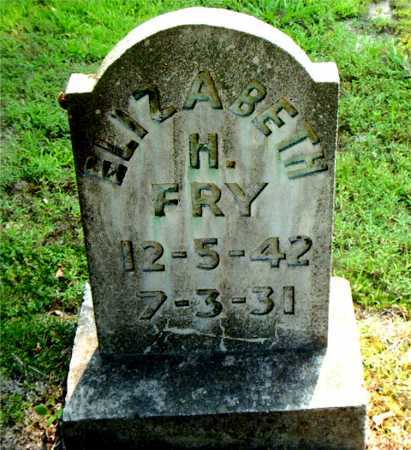 FRY, ELIZABETH H. - Boone County, Arkansas   ELIZABETH H. FRY - Arkansas Gravestone Photos