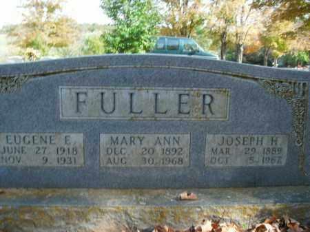 FULLER, EUGENE E. - Boone County, Arkansas | EUGENE E. FULLER - Arkansas Gravestone Photos