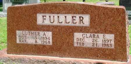 FULLER, LUTHER A - Boone County, Arkansas | LUTHER A FULLER - Arkansas Gravestone Photos