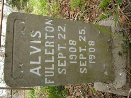 FULLERTON, ALVIS - Boone County, Arkansas | ALVIS FULLERTON - Arkansas Gravestone Photos