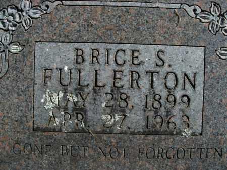 FULLERTON, BRICE SHARPENSTEIN - Boone County, Arkansas | BRICE SHARPENSTEIN FULLERTON - Arkansas Gravestone Photos