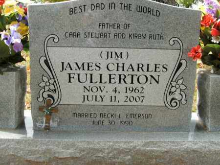 FULLERTON, JAMES CHARLES - Boone County, Arkansas   JAMES CHARLES FULLERTON - Arkansas Gravestone Photos