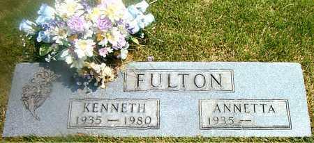 FULTON, KENNETH - Boone County, Arkansas | KENNETH FULTON - Arkansas Gravestone Photos