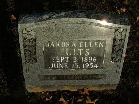 FULTS, BARBRA ELLEN - Boone County, Arkansas | BARBRA ELLEN FULTS - Arkansas Gravestone Photos