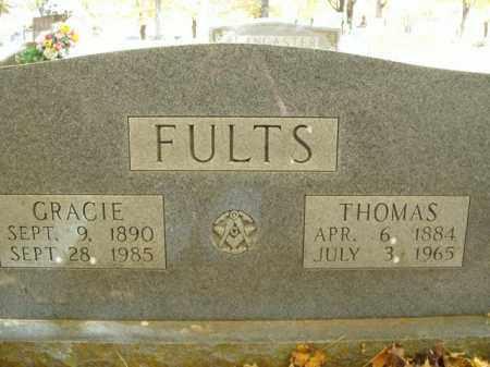 FULTS, THOMAS - Boone County, Arkansas | THOMAS FULTS - Arkansas Gravestone Photos