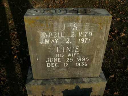 FULTS, LINIE - Boone County, Arkansas | LINIE FULTS - Arkansas Gravestone Photos