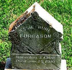 FURGASON, JESSIE BURL - Boone County, Arkansas   JESSIE BURL FURGASON - Arkansas Gravestone Photos