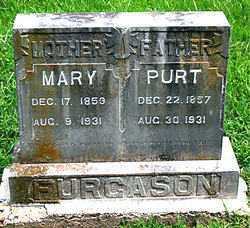 FURGASON, MARY - Boone County, Arkansas | MARY FURGASON - Arkansas Gravestone Photos
