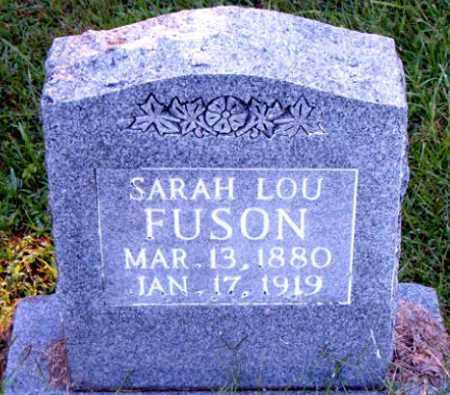 FUSON, SARAH LOU - Boone County, Arkansas | SARAH LOU FUSON - Arkansas Gravestone Photos