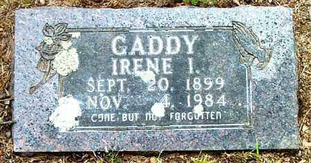 GADDY, IRENE I. - Boone County, Arkansas | IRENE I. GADDY - Arkansas Gravestone Photos