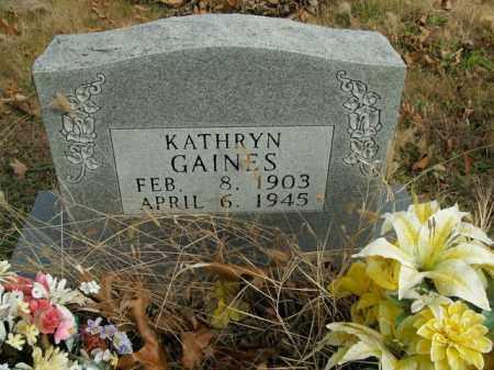 GAINES, MILLIE KATHRYN - Boone County, Arkansas | MILLIE KATHRYN GAINES - Arkansas Gravestone Photos
