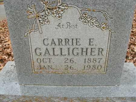 GALLIGHER, CARRIE E. - Boone County, Arkansas   CARRIE E. GALLIGHER - Arkansas Gravestone Photos