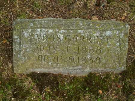 EMERSON, CYRUS GARRETT - Boone County, Arkansas   CYRUS GARRETT EMERSON - Arkansas Gravestone Photos