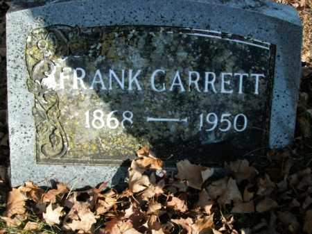 GARRETT, FRANK - Boone County, Arkansas | FRANK GARRETT - Arkansas Gravestone Photos
