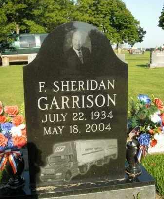 GARRISON, F. SHERIDAN - Boone County, Arkansas   F. SHERIDAN GARRISON - Arkansas Gravestone Photos