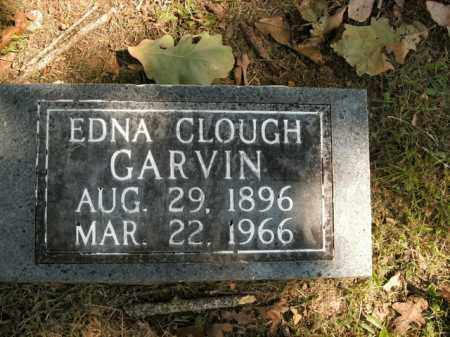 CLOUGH GARVIN, EDNA - Boone County, Arkansas | EDNA CLOUGH GARVIN - Arkansas Gravestone Photos