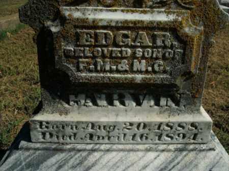 GARVIN, EDGAR - Boone County, Arkansas   EDGAR GARVIN - Arkansas Gravestone Photos