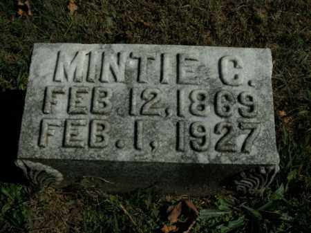 GARVIN, MINTIE C. - Boone County, Arkansas | MINTIE C. GARVIN - Arkansas Gravestone Photos
