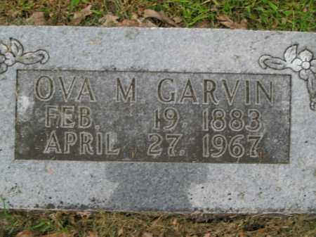GARVIN, OVA M. - Boone County, Arkansas | OVA M. GARVIN - Arkansas Gravestone Photos