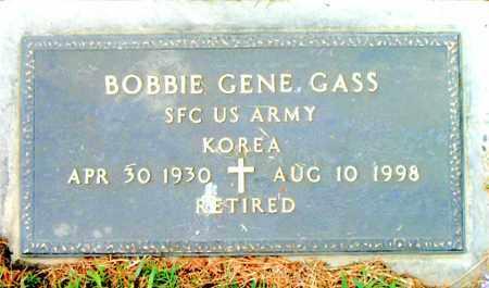 GASS  (VETERAN KOR), BOBBIE GENE - Boone County, Arkansas   BOBBIE GENE GASS  (VETERAN KOR) - Arkansas Gravestone Photos