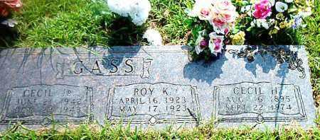 GASS, CECIL H. - Boone County, Arkansas | CECIL H. GASS - Arkansas Gravestone Photos