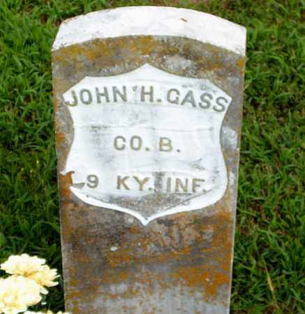GASS  (VETERAN UNION), JOHN  HOUSTON - Boone County, Arkansas | JOHN  HOUSTON GASS  (VETERAN UNION) - Arkansas Gravestone Photos
