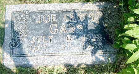 GASS, JOE LEWIS - Boone County, Arkansas   JOE LEWIS GASS - Arkansas Gravestone Photos