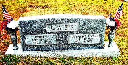 GASS, LUTHER D. - Boone County, Arkansas | LUTHER D. GASS - Arkansas Gravestone Photos